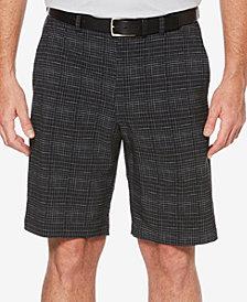 PGA TOUR Men's 10'' Grid-Print Shorts