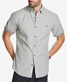 Weatherproof Vintage Men's Chambray Pocket Shirt