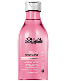 L'OREAL Professional Série Expert Lumino Contrast Shampoo, 8.45-oz., from PUREBEAUTY Salon & Spa