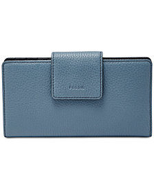 Fossil Emma RFID Tab Leather Wallet