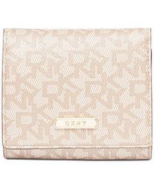 DKNY Bryant Signature Trifold Wallet, Created for Macy's