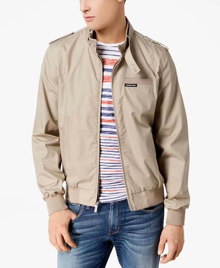 Members Only - Men's Iconic Racer Jacket