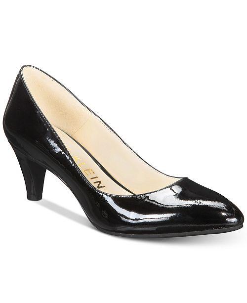 14622b209bb5 Anne Klein Rosalie Kitten-Heel Pumps   Reviews - Pumps - Shoes - Macy s