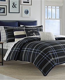Nautica Allston 3-Pc. Full/Queen Duvet Cover Set