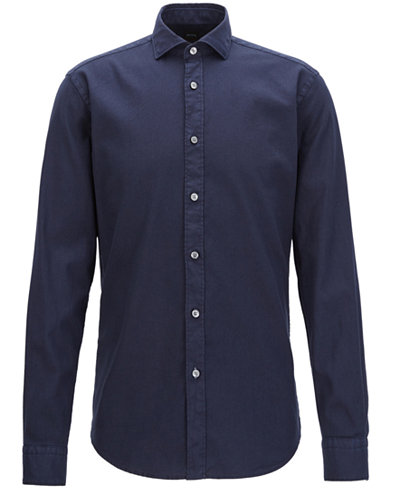BOSS Men's Slim-Fit Stretch Sport Shirt