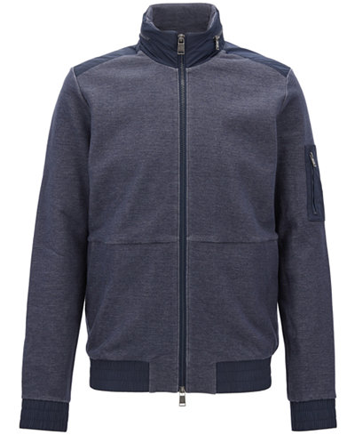 BOSS Men's Full-Zip Jacket