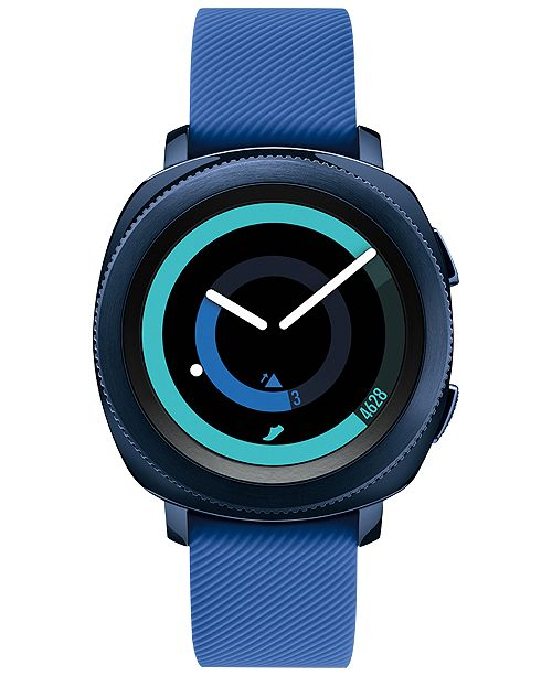 205fcd74 Samsung Gear Sport Smart Watch with Rubber Strap 42.9mm & Reviews ...