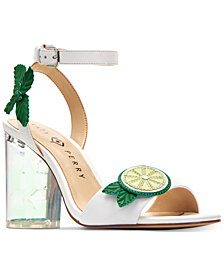 Katy Perry Rita Mojito City Lucite Heel Sandals