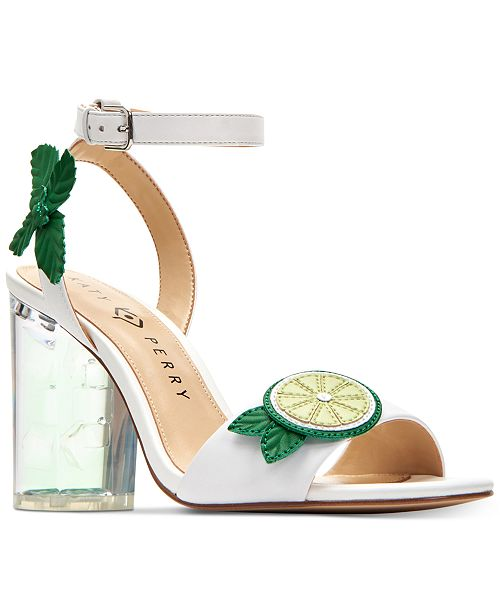 e3dadef81b4 Katy Perry Rita Mojito City Lucite Heel Sandals   Reviews - Sandals ...