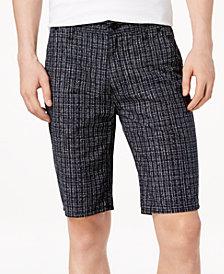 Calvin Klein Jeans Men's Maker's Classic-Fit Crosshatch Shorts