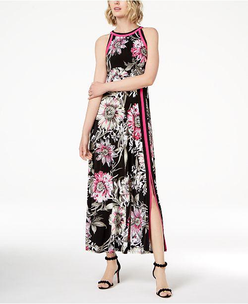 Inc International Concepts Inc Petite Floral Print Maxi Dress