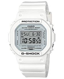G-Shock Men's Digital White Resin Strap Watch 42.8mm