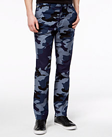Lacoste Men's LIVE Print Chino Pants