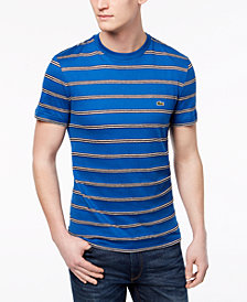 Lacoste Men's Painted Stripe T-Shirt