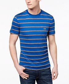 Lacoste Men's Painted Stripe T-Shirt