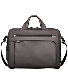 Tumi Men's Arrivé Sawyer Leather Briefcase