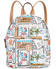 Giani Bernini Coated Canvas Backpack, Created for Macy's