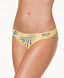 Roxy Softly Love Reversible Printed Bikini Bottoms