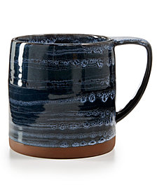 Lucky Brand Blue Wash Mug, Created for Macy's