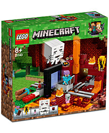 LEGO® Minecraft The Nether Portal Set 21143
