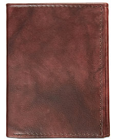 Tasso Elba Men's Leather Card Case, Created for Macy's