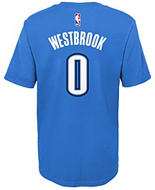 Russell Westbrook Oklahoma City Thunder Replica Name & Number T-Shirt, Little Boys (4-7)
