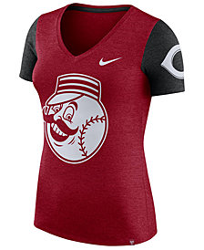 Nike Women's Cincinnati Reds Dri-Fit Touch T-Shirt
