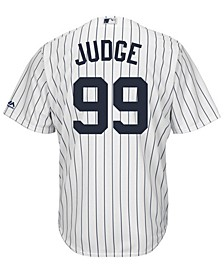 Men's Aaron Judge New York Yankees Player Replica Cool Base 3XL-6XL Jersey