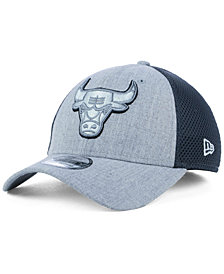 New Era Chicago Bulls Heathered Neo Pop 39THIRTY Cap