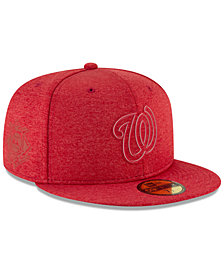 New Era Boys' Washington Nationals Clubhouse 59FIFTY Fitted Cap