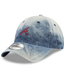 New Era Atlanta Braves Denim Wash Out 9TWENTY Cap