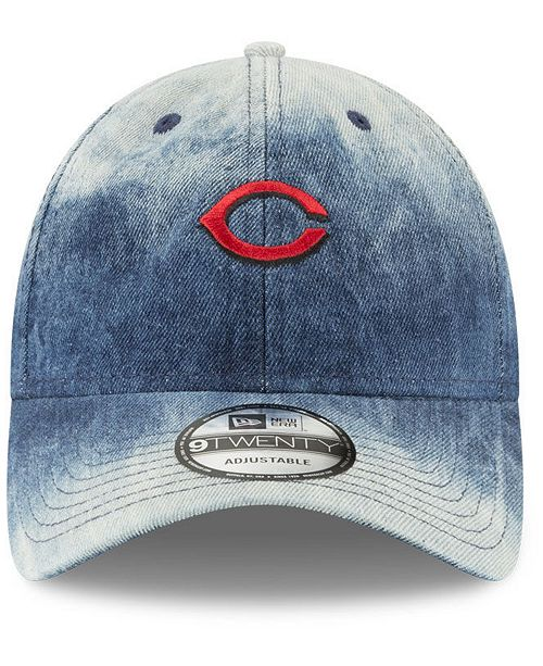 3f4e97105e056 New Era Cincinnati Reds Denim Wash Out 9TWENTY Cap - Sports Fan Shop By Lids  - Men - Macy s