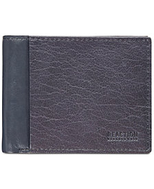Kenneth Cole Reaction Men's Textured Leather Passcase Wallet