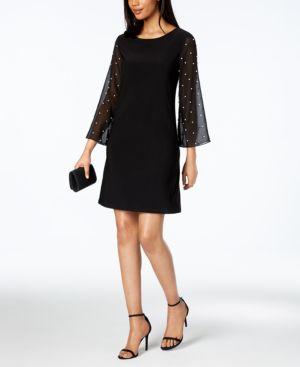 Msk Embellished Shift Dress 5891445