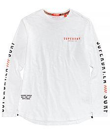 Superdry Men's Surplus Goods Logo-Print Longline T-Shirt