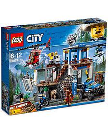LEGO® City Mountain Police Headquarters 60174