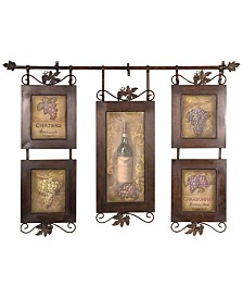 Uttermost Hanging Wine Wall Art