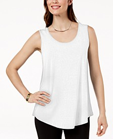 Petite Scoop-Neck Tank Top, Created for Macy's