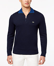 Lacoste Men's Quarter-Zip Sweatshirt