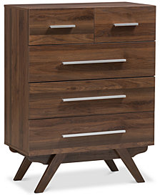 Auburn 5-Drawer Chest, Quick Ship