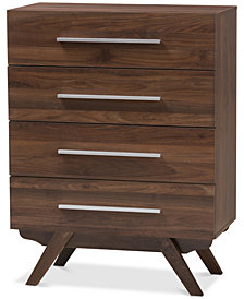 Auburn 4-Drawer Chest, Quick Ship