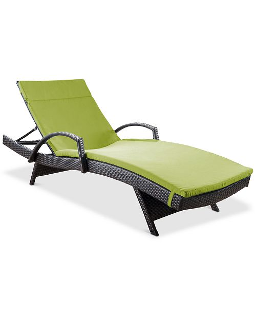 Noble House Lunada Bay Outdoor Chaise Lounge