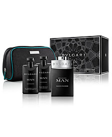 BVLGARI Men's 4-Pc. Man Black Cologne Gift Set