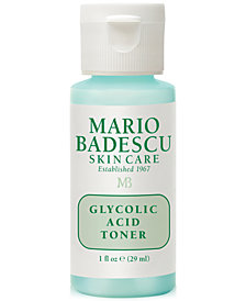 Receive a FREE Deluxe Glycolic Acid Toner, 1-oz. with any $24 Mario Badescu purchase!
