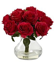 Red Rose Arrangement with Vase