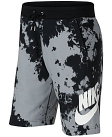 Nike Men's Sportswear Tie-Dyed Shorts