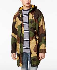 G-Star RAW Men's Camo Hooded Parka