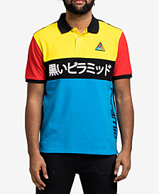 Black Pyramid Men's Colorblocked Polo