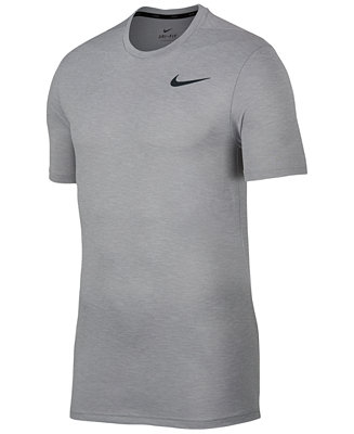 16b1ac4f Nike Men's Breathe Hyper Dry Training Top & Reviews - T-Shirts - Men -  Macy's