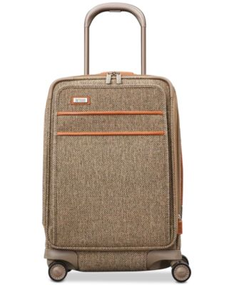 """Tweed Legend 20"""" Global Carry-On Expandable Spinner Suitcase"""